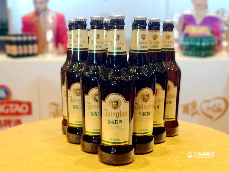青岛啤酒全麦白啤源于欧洲却又有所区隔.