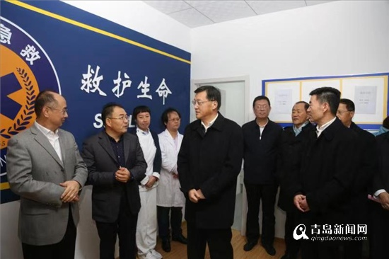 普集路120急救站正式试运行 依托市立医院建立