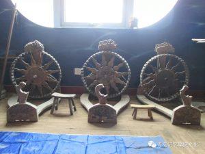 """专业建设博物馆遇见青岛记忆之""""古纺具"""""""