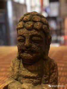 """专业建设博物馆青岛记忆之""""明代佛像"""""""
