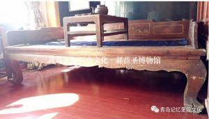 """专业建设博物馆青岛记忆之""""寝具"""""""